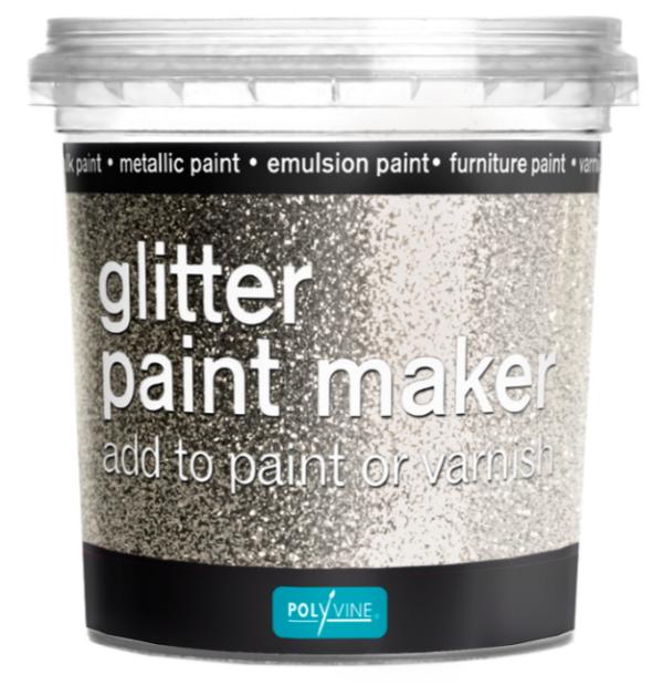 Glitter paint maker
