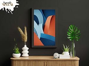 hergebruik-je-verf-door-een-fotolijstje-mee-te-schilderen-in-de-kleur-van-de-muur